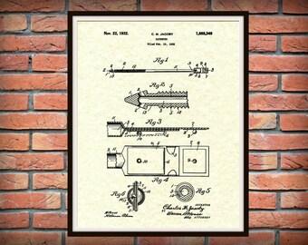 1932 Catheter Patent Print - Medical Poster - Urology Art Print - Hospital Decor - Urology Office Decor - Emergency Room - Surgery Decor
