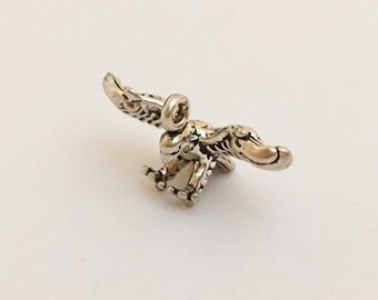 Sterling Silver Charm Eagle