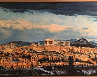 Athens Parthenon, Afternoon