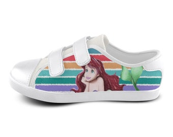 adidas shoes pink velcro monkey mermaids 637393