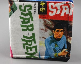 Star Trek, the Original Series, Spock bifold wallet, card slots and cash pocket