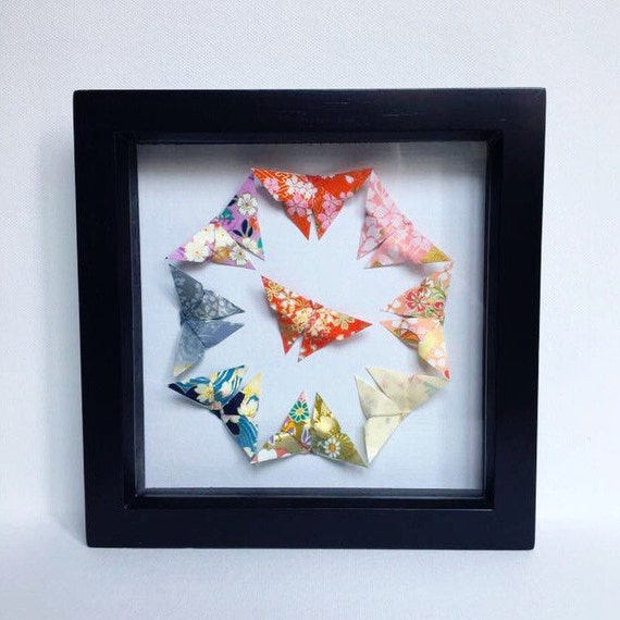 Fresh Origami Butterfly Wall Art Japanese Origami Wall Art Origami JG98