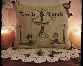 Tomb sweet Tomb - PDF Cross Stitch Pattern