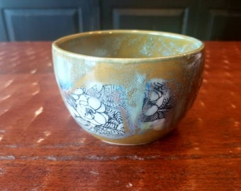 Handmade pottery bowl, prep bowl, succulent planter, soup bowl, ice cream bowl, holds 2 cups, FREE SHIPPING