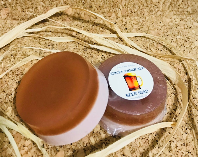 Spiced Amber Ale Goatsmilk & Honey Soap/More Scents to Choose From!