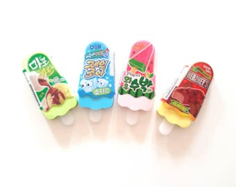 Gum Kawai ice, choose from 4 colors