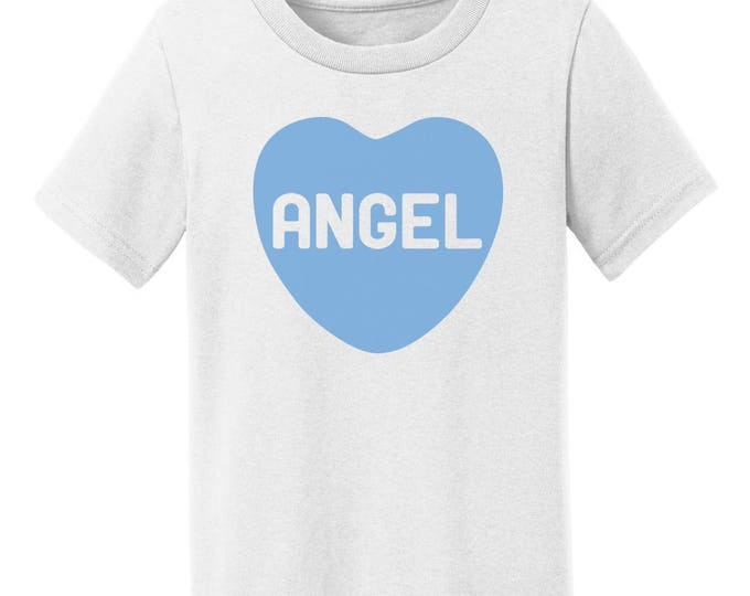 Angel Candy Heart Valentines Day T-Shirt