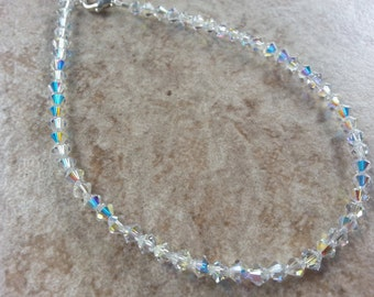 Swarovski Crystal Anklet bracelet