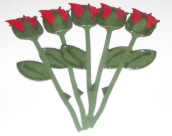 Red Rose Buds - 2 to a pack