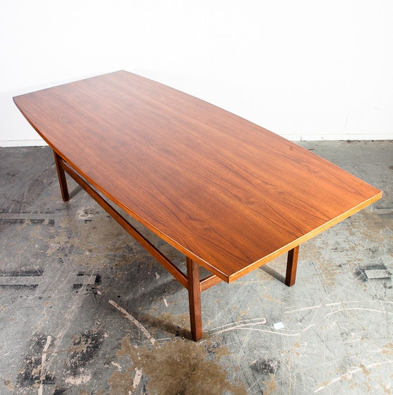 Mid Century Modern Conference Table Jens Risom Knoll Solid - Mid century conference table