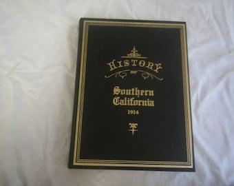 1975 History Of Southern California 1914 Books Sj