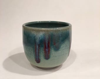 One Tea Cup, Handmade Ceramic TeaCup, Yunomi  TCJAN18GP3
