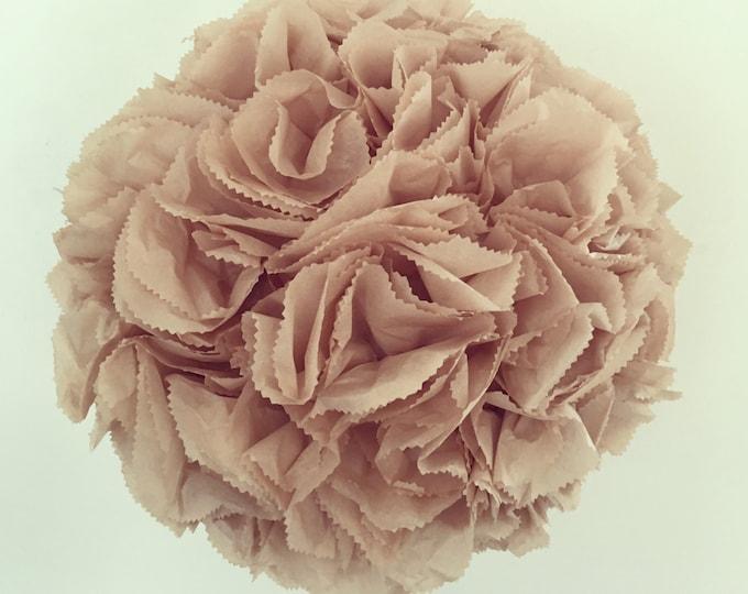 "Extra Large Wedding Piñata | 20"" Flower Ball | Pomander | Kissing Ball | Gender Reveal Piñata | Custom Guest Book Piñata | Anniversary"
