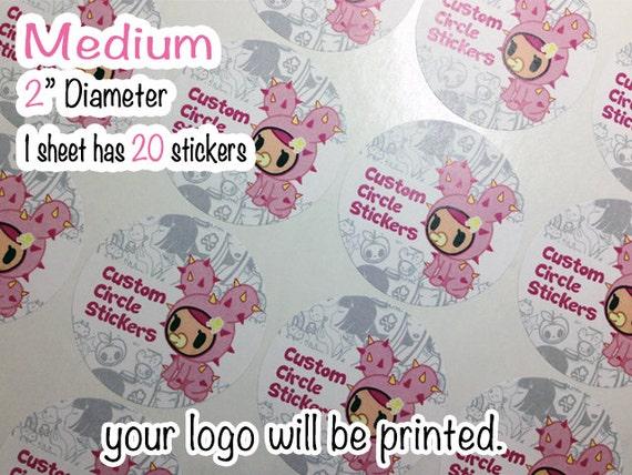 Custom sticker templates