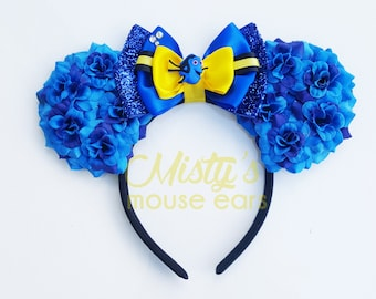 Inspired Rose Finding Dory  Mouse Ears