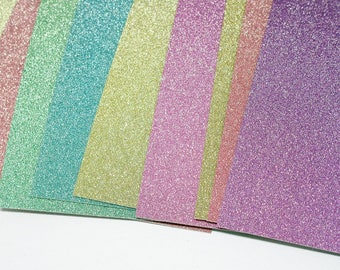 12 Glitter Project Life Journaling Cards