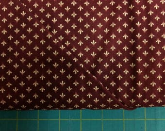 First Ladies fabric. Red texture fan reproduction quilters cotton quilting Windham 2100