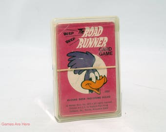 Road Runner Card Game from Whitman 1976 COMPLETE