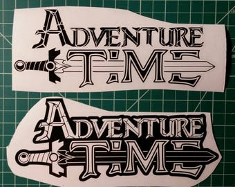 Adventure Time Logo Decal