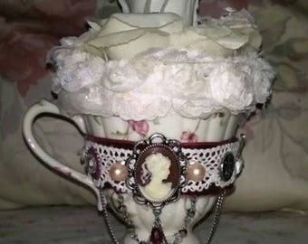 One Of A Kind Repurposed Tea Cup