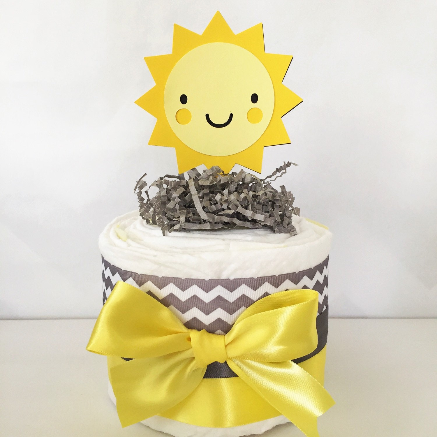 Awesome You Are My Sunshine Mini Diaper Cake, You Are My Sunshine Baby Shower  Centerpieces