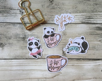 I hate Mondays / Panda Chic Planners, Penpal and Journalling Die Cuts