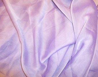 Chiffon light purple changing color