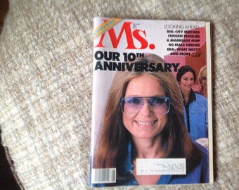 Ms. 10th Anniversary issue August 1982 double issue