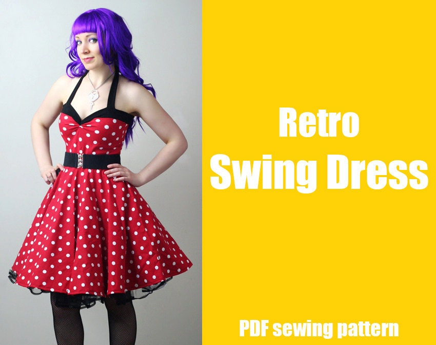 Two new retro inspired sewing patterns! – WhatTheCraft