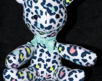 Stuffed Kitten - Leopard Print