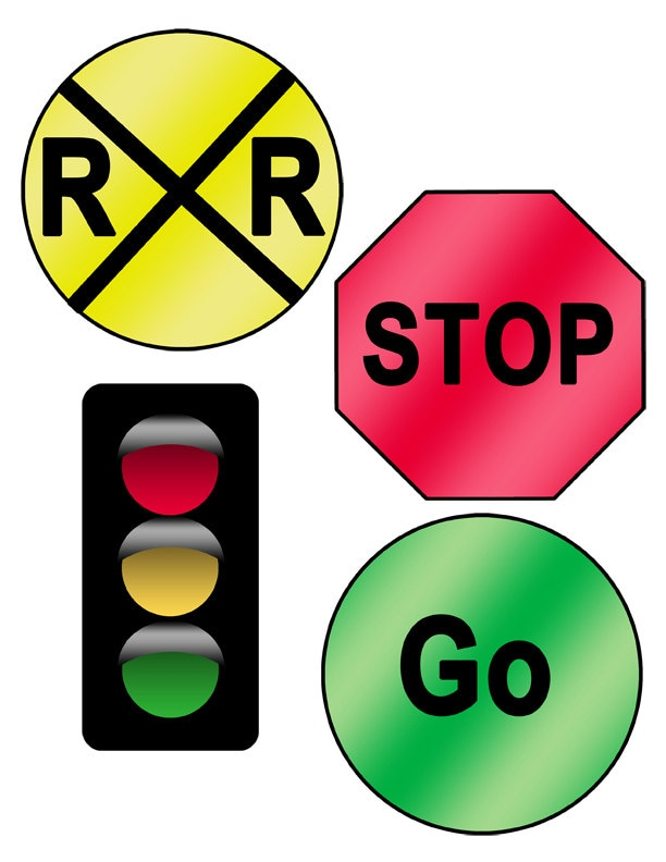 It's just a graphic of Intrepid Printable Traffic Sign