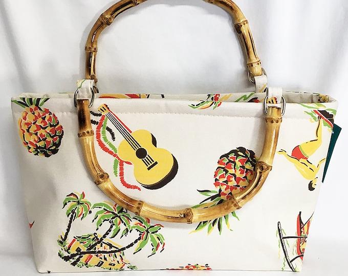 Handbag - Hawaiiana 1a by muhlenkott