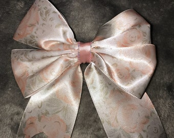Floral Bow with Tails