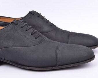 J.M Weston cap toe oxford shoes size 7.5 D