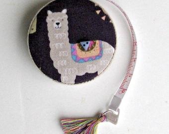 Mètre ruban rétractable avec alpaga pour la couture, tricot, Crochet, tissage, feutrage et toutes les fibres Arts, cadeau