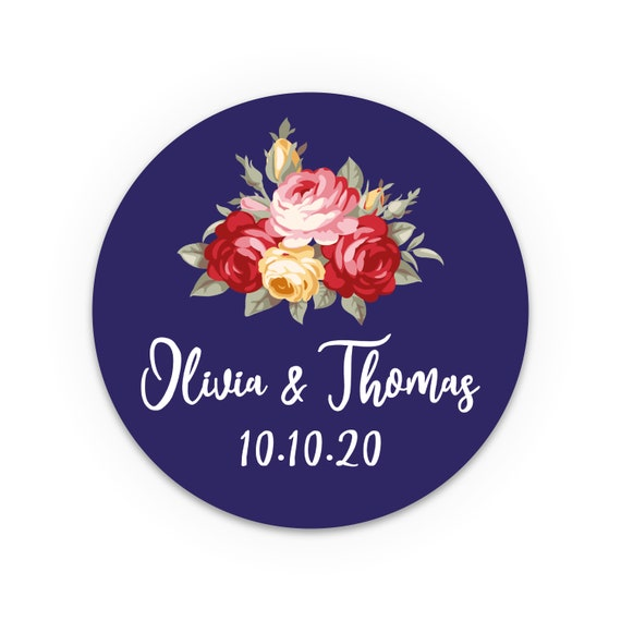 Custom stickers, Personalized stickers, Personalised labels stickers, Wedding favor sticker, Envelope seals wedding, Labels for jars