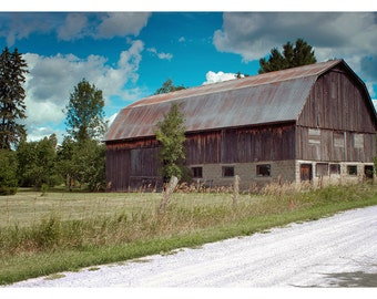 Burnt River Barn - Art & collectible photo Giclee prints for home decor or gift suggestion for any occasion.