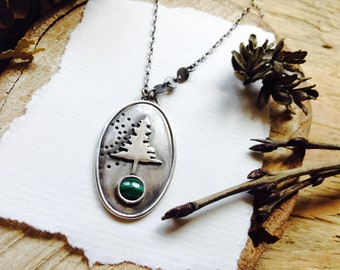 Rooted and Resilient - Wisdom of the Evergreen Necklace