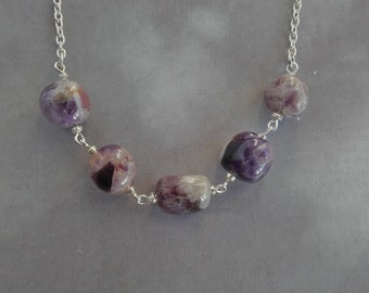 Amethyst (Sage) Necklace