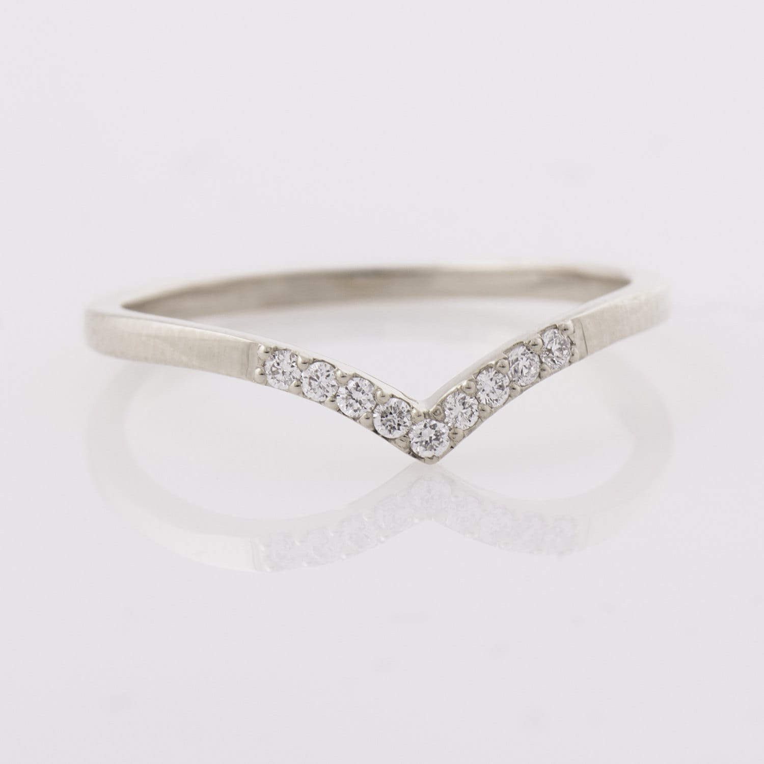 reeds embrace wedding ring diamond item curved ellaura rings