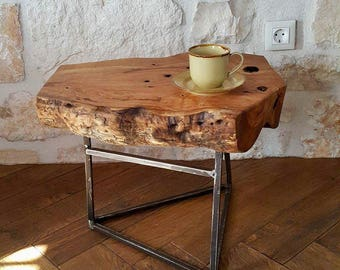 Stunning Olive Wood Coffee Side Table