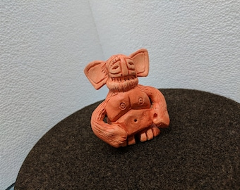 Sunshine the Gremlin - Original Stoneware Figurine by Danny Korves