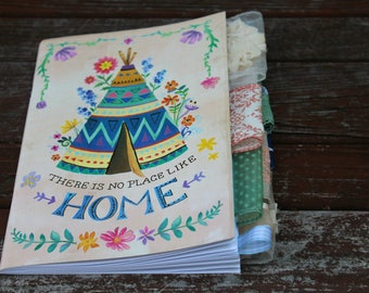 There Is No Place Like Home Altered Journal