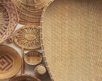 FLASH SALE / Basket Art / Boho Basket