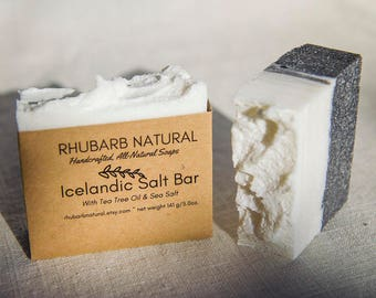 Icelandic Salt Bar
