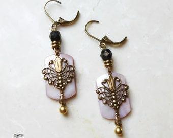 Earrings - Lavender Pink