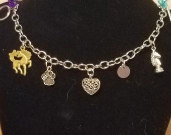 Cullen Romance Charm Bracelet