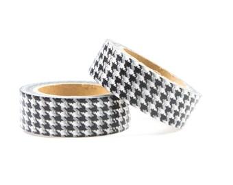 Washi tape black and white