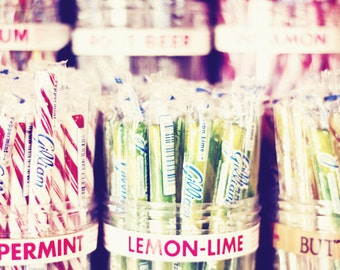 Fine Art Food Photography - Candy Photography - Penny Candy Art Print - General Store Wall Decor