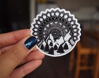 Forest Mandala Sticker